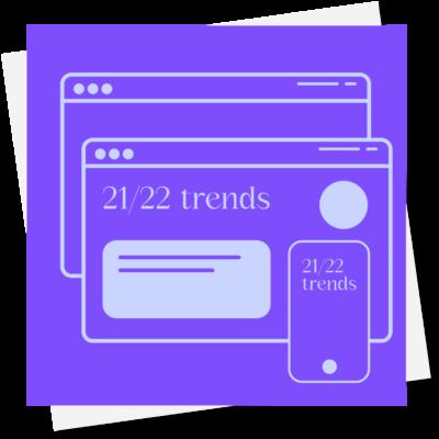 Tendencias de diseño web 2021/22